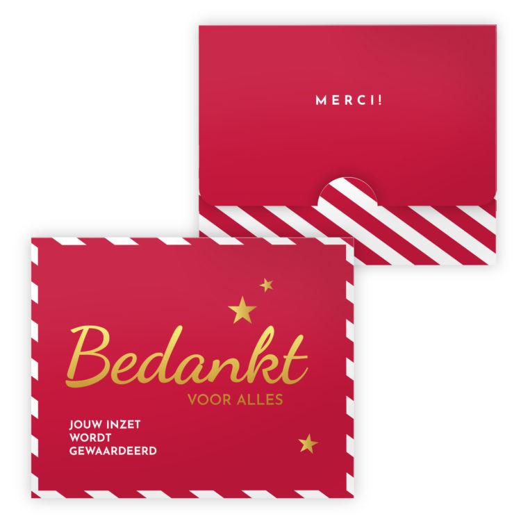 luxe chocolade kerst geschenk