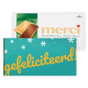 chocolade bedankjes collega