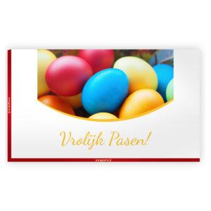 vrolijk Pasen chocolade