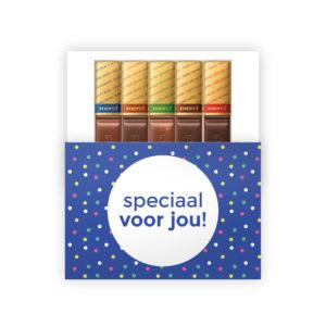 Speciaal voor jou chocolade bedankjes