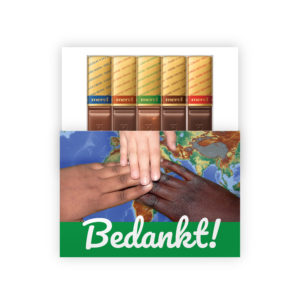 Chocolade bedankjes goede doel