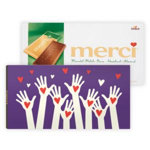 gepersonaliseerd chocolade cadeau