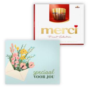mercikes chocolade bedankjes speciaal voor jou
