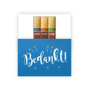 chocolade bedankjes origineel