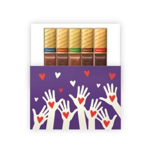 bedankt voor je inzet chocolade