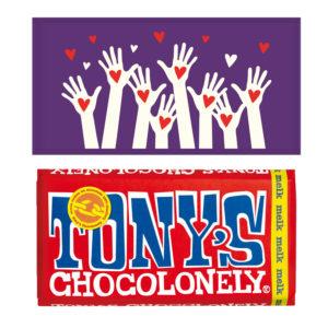 Tony's chocolonely bedankt