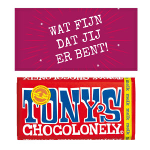 collega's chocolade bedanken