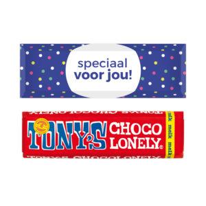 Speciaal voor jou chocolade
