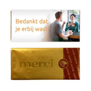 zakelijke bedankjes - chocolade