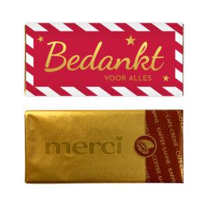 bedankt goud chocolade goedkope bedankjes
