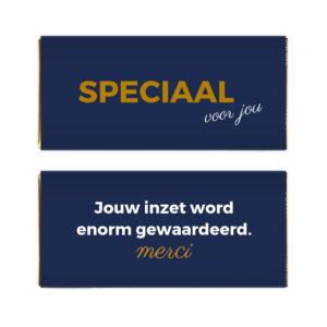 speciaal merci chocolade presentje