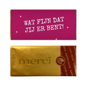 mercikes chocolade bedankjes