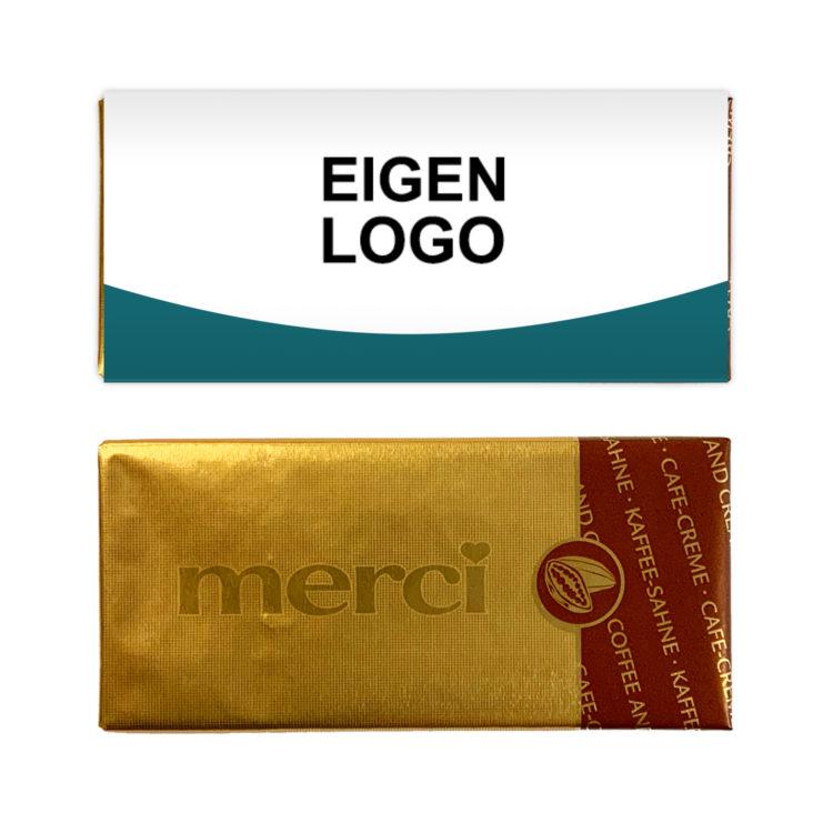 Mini reep chocolade bedankjes eigen logo
