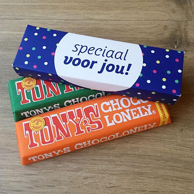 Tony chocolade bedankjes
