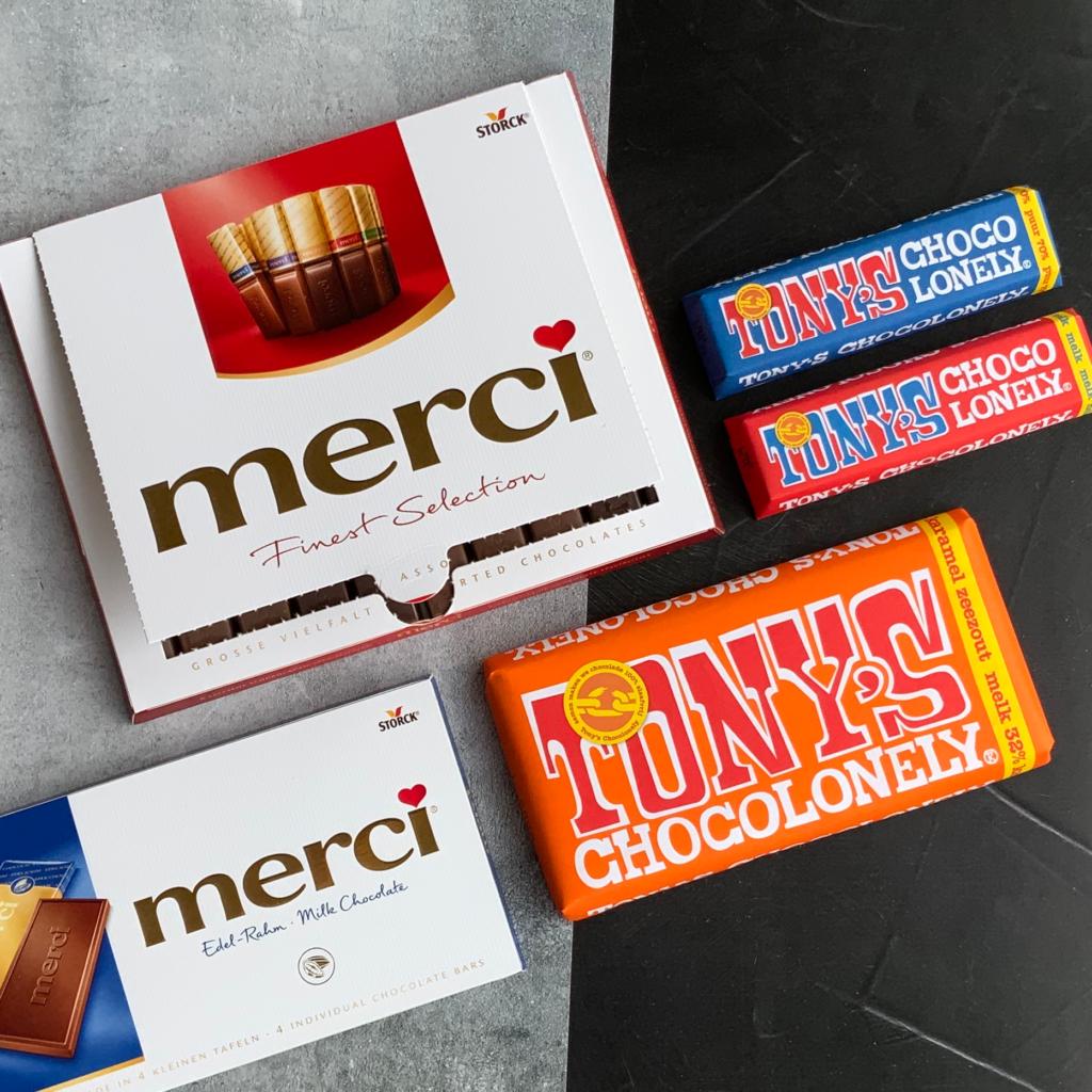 Zakelijke chocolade bedankjes