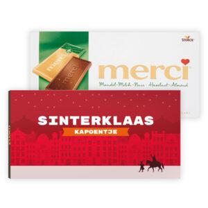 Sinterklaas chocolade bedankjes merci