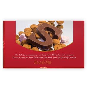 Sinterklaas gedicht chocolade