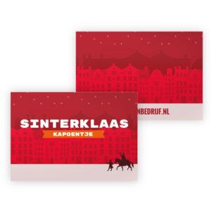 Sinterklaas personeelsgeschenk kapoentje
