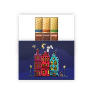 Sinterklaas personeelsgeschenk wie zoet is