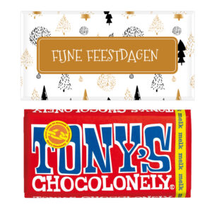 tony's chocolonely bedankjes