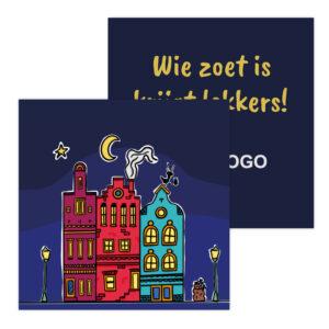 Sinterklaas chocolade bedankjes