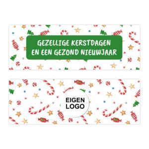 Kerst ambachtelijke chocolade