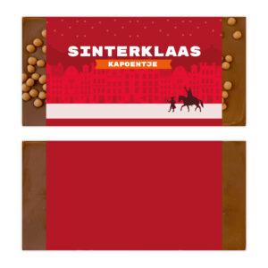 Luxe ambachtelijke chocolade sinterklaas bedankjes