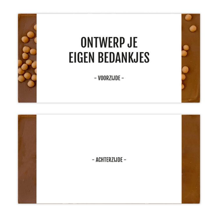 ontwerp chocolade bedankjes - ambachtelijk