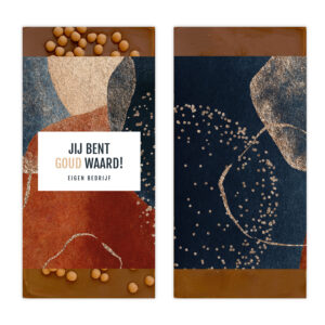 Luxe goud waard ambachtelijke chocolade bedankjes