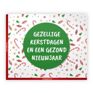 mercikes chocolade kerst bedankjes