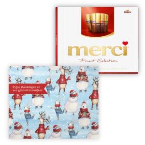 mercikes chocolade kerst