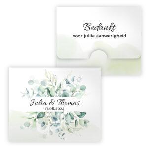 Bruiloft bedankje