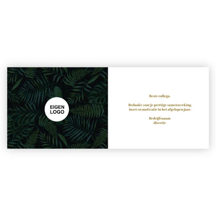 Mercikes chocolade bedankjes met kaart