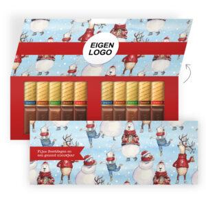 luxe chocolade bedankjes kerst