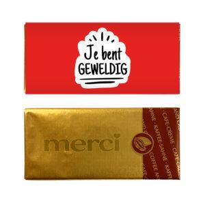 beurs bedankjes - chocolade