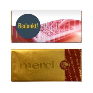 kleine chocolade bedankjes personeel