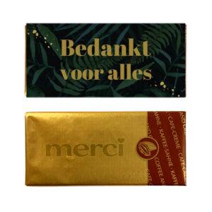 budget bedankjes - chocolade