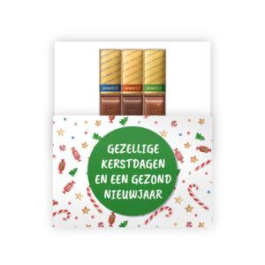 kerst cadeautje chocolade