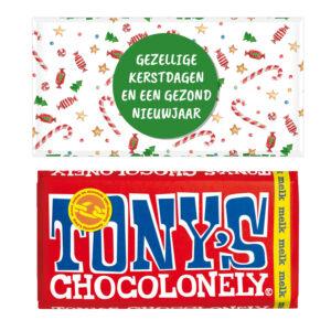 Tony chocolonely kerst bedankjes