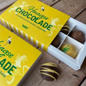 Haagse chocolade bonbons bedankje