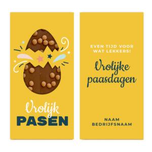 Pasen chocolade bedankje
