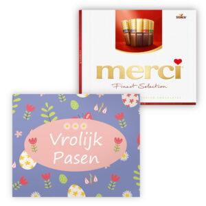 Paas chocolade met logo