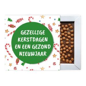 Kerst chocolade bedankjes