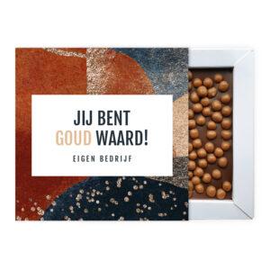Goud waard ambachtelijke chocolade
