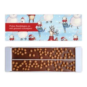 Kerst bedankjes met ambachtelijke chocolade