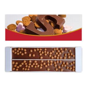chocoladeletter sinterklaas ambachtelijke chocolade