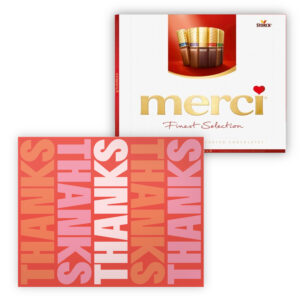 Merci chocolade bedankjes met logo