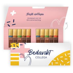 Luxe chocolade verpakking met Merci