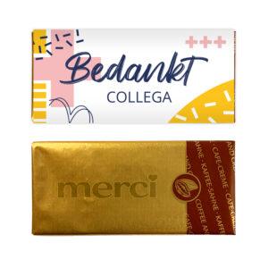 Budget chocolade collega zorg