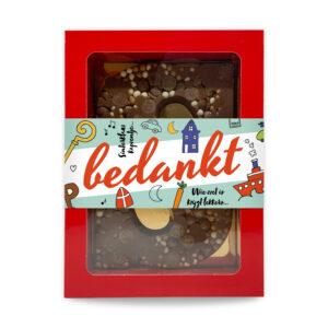 chocoladeletters bedankjes